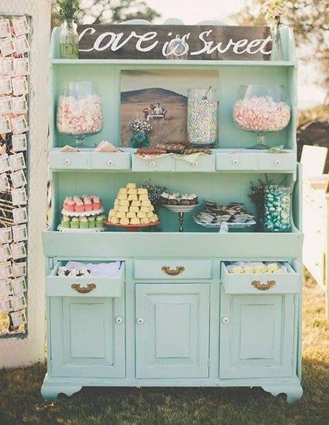 Estación de dulces- Deco Vintage