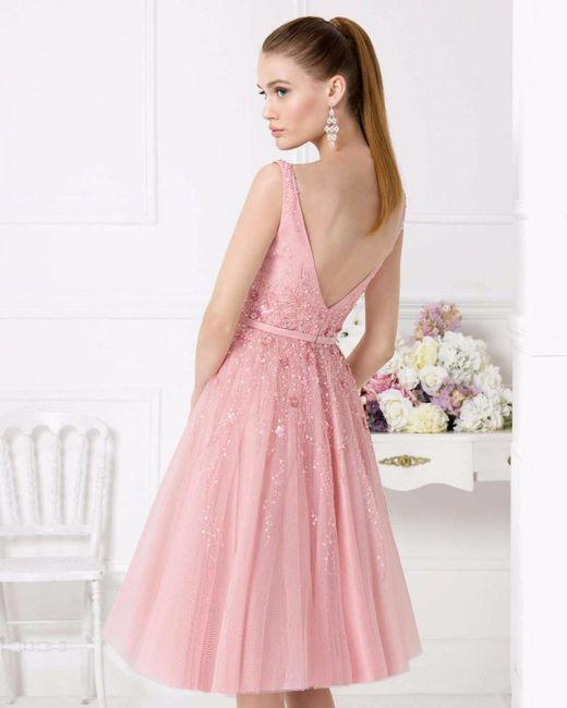 vestidos en tono rosa]: para boda civil o pedida de mano - Página 2