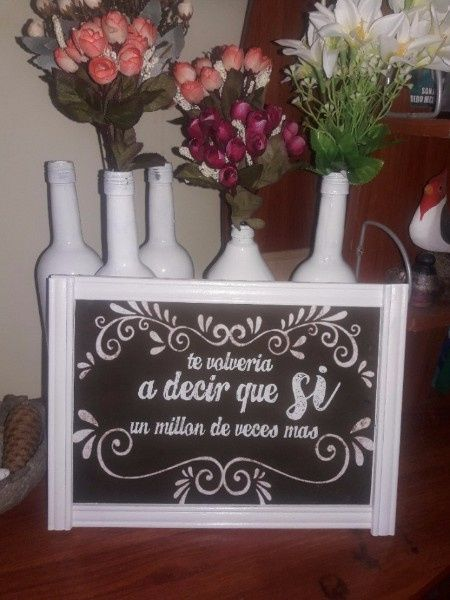 [pizarras y carteles]: Detalles de boda 6