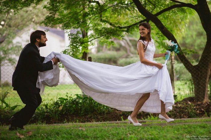 [vestido de novia]: Fotos de novias reales :) 24