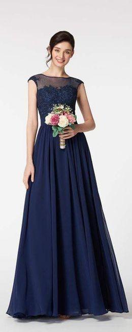 [damas de honor]: Vestidos en tonos azules 4