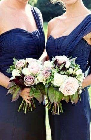 [damas de honor]: Vestidos en tonos azules 8