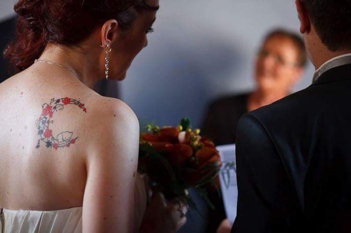 [novias & tatuajes]: Color en la piel 1