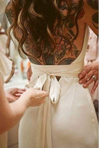 [novias & tatuajes]: Color en la piel 3