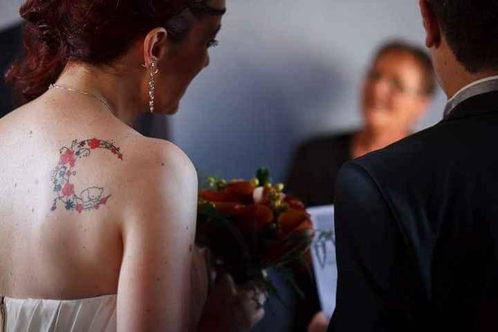[novias & tatuajes]: Color en la piel - 1