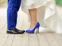 Zapato de color