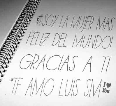 Feliz / happy :D