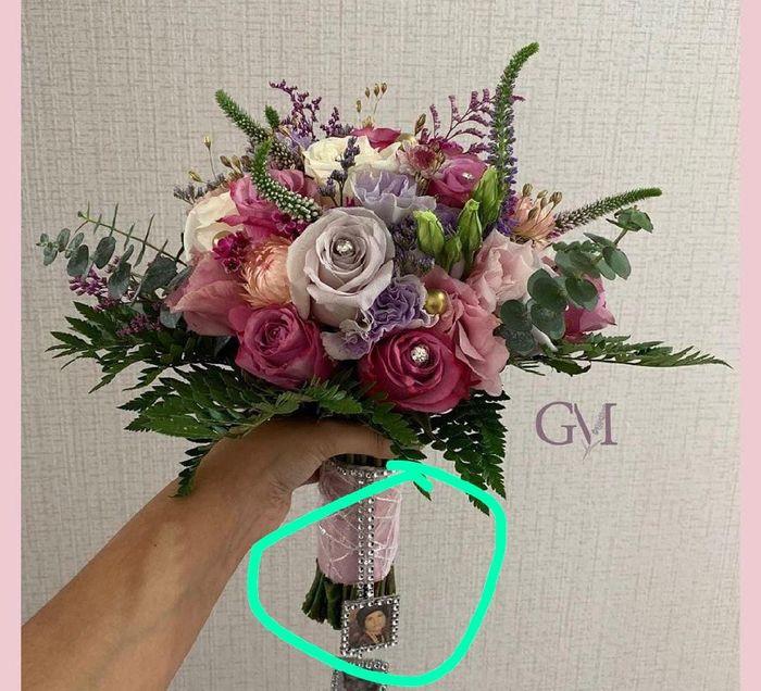 ¿Quién me muestra una foto de inspiración de su bouquet? 14