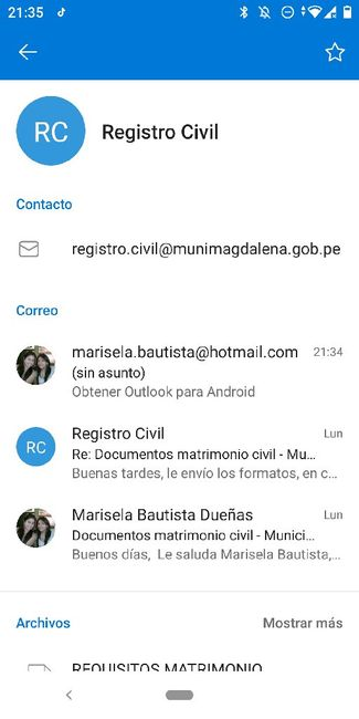 Matrimonio Civil Distrito Magdalena - 1