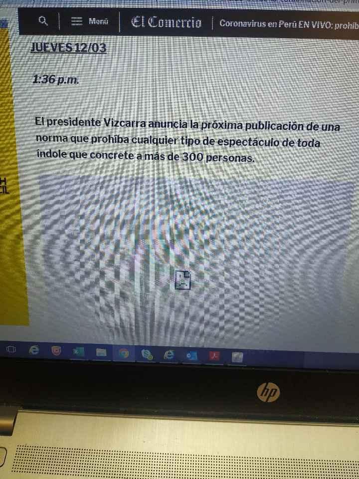 Prohíben eventos que congreguen a más de 300 personas por coronavirus en Perú - 2