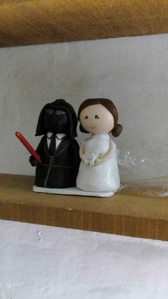 Muñeco de torta personalizado - 1