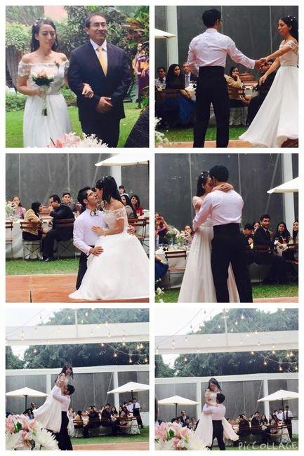 Collage de boda