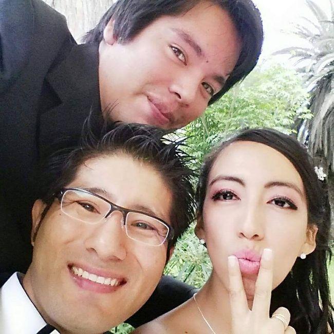 amistades en la boda