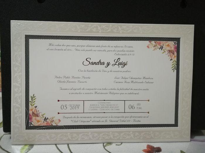 Mis avances para la boda parte 1 2