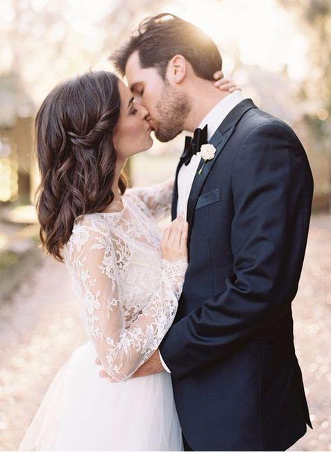 ¿Como te gustaría que fuera la foto del primer beso? 2