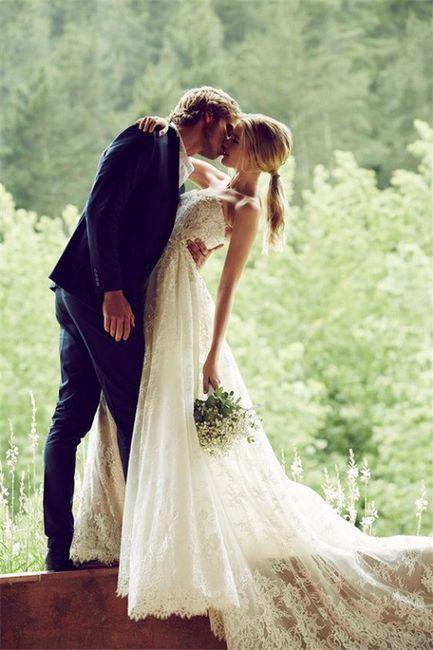 ¿Como te gustaría que fuera la foto del primer beso? 3