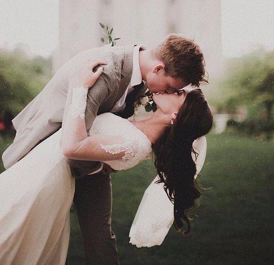 ¿Como te gustaría que fuera la foto del primer beso? 4