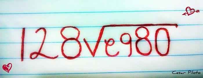 Matemáticas de amor: Suma las letras de sus nombres 1