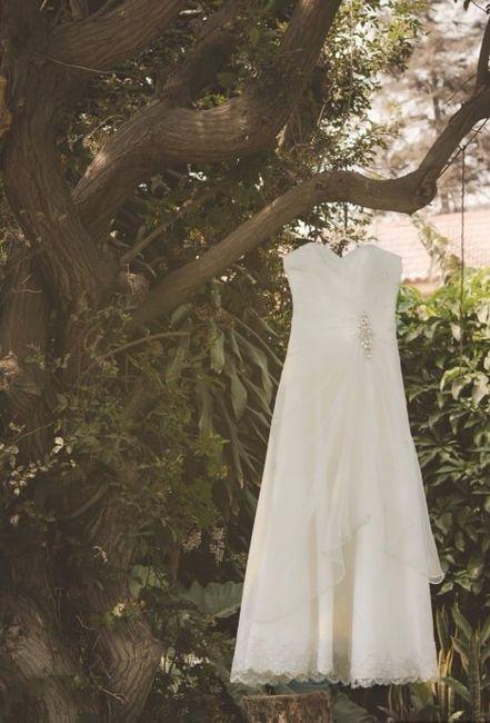 Adivina, adivinanza. ¿Cuál será el vestido de esta novia? 😉