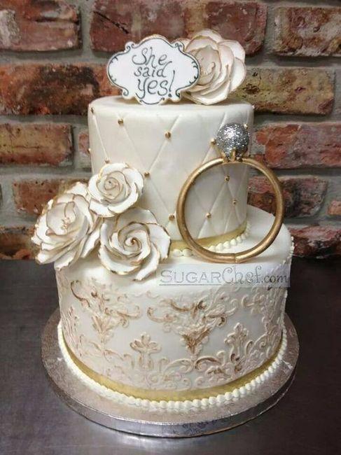 10 tortas ideales para tu pedida de mano 💍 3