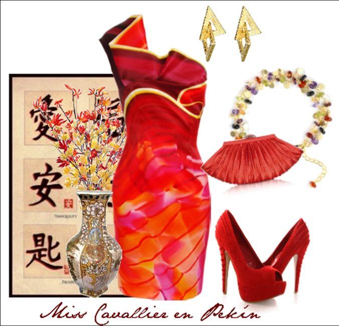 Ideas para decorar salon para boda  china peruana - 9
