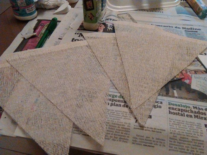 Triangulos del banderin