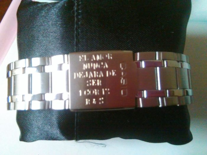 Reloj Grabado de Sergio