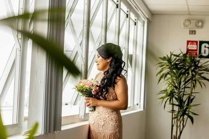 Proveedor de vestido civil boda s&r - 1