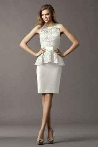 Dónde compraste o vas a comprar tu vestido de novia para el civil? - 1