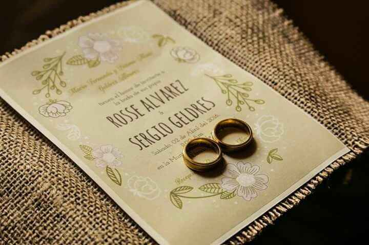 Mis invitaciones diy para mi boda civil - 1