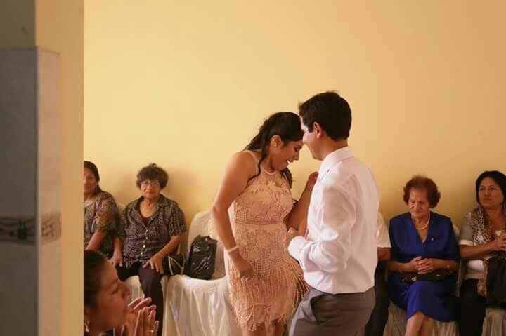 Proveedor de vestido civil boda s&r - 2