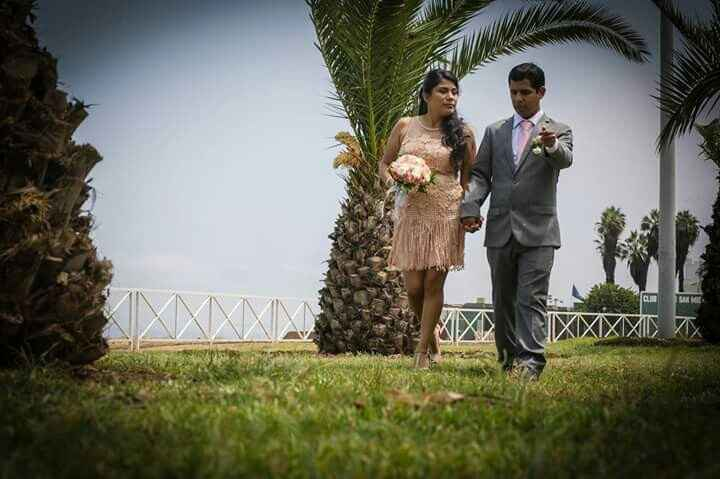 Proveedor de vestido civil boda s&r - 4