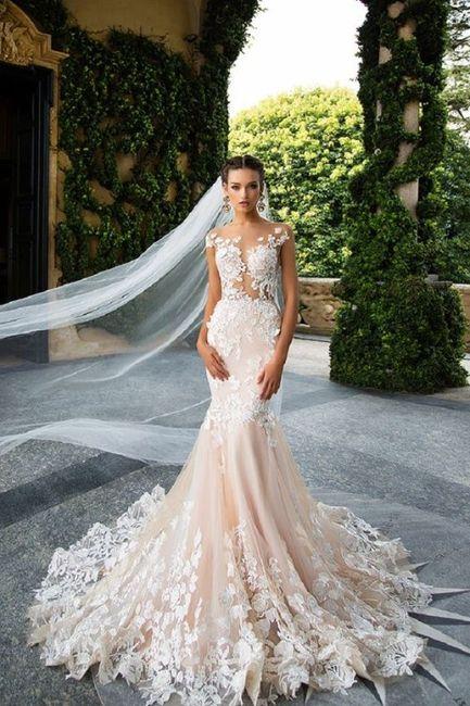 8 meses antes de la boda ¿Cómo será tu vestido de novia? 2