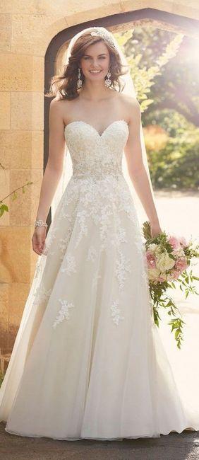 8 meses antes de la boda ¿cómo será tu vestido de novia?