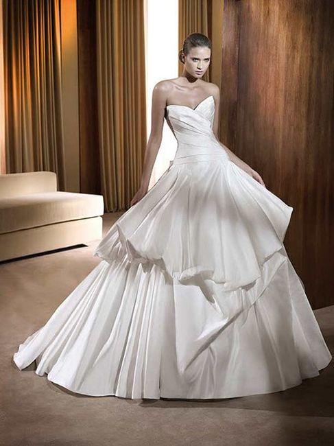 10 pasos para diseñar tu vestido de novia 👰: Falda 2