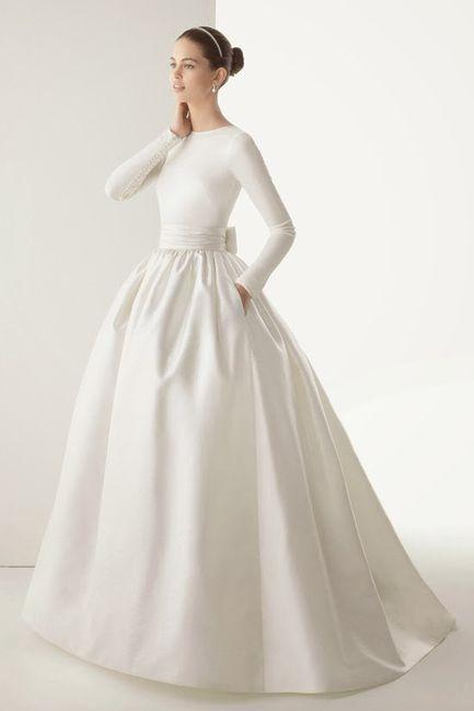 10 pasos para diseñar tu vestido de novia 👰: Falda 3