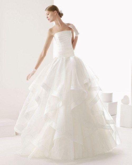 10 pasos para diseñar tu vestido de novia 👰: Falda 4