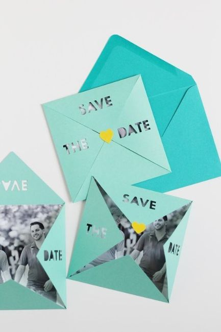 DIY: Los Save the Date 2