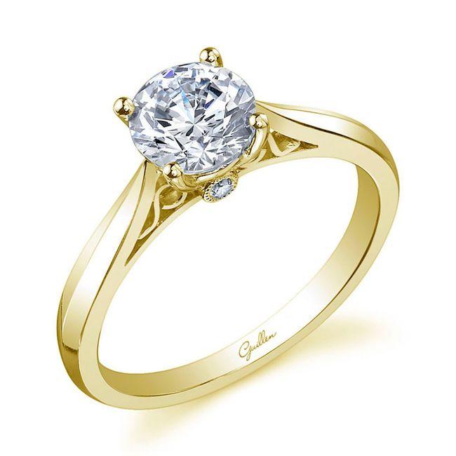 ¿Cuál es la forma de tu anillo de compromiso? 💍 1