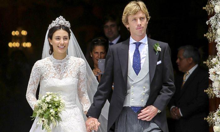 La boda real del príncipe Christian de Hannover y Alessandra de Osma 💕 1