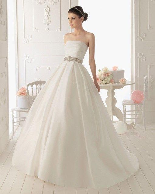 Vestido Corte princesa tela lisa 2