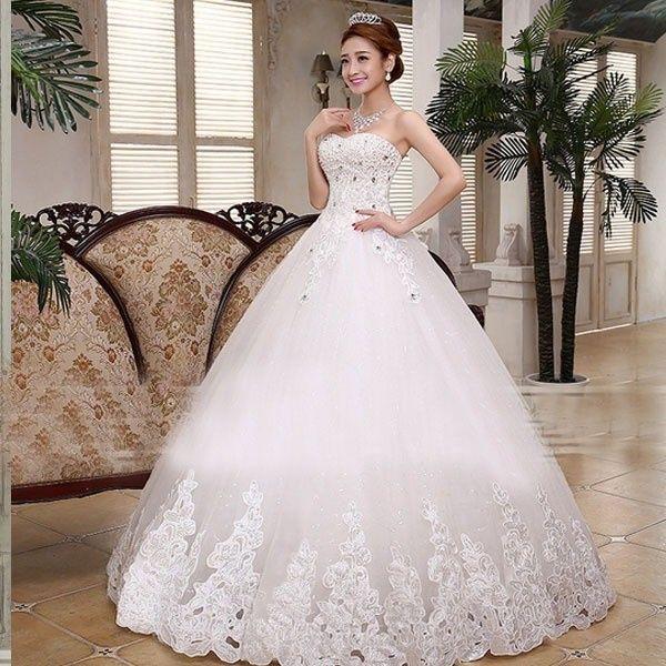 vestido corte princesa con pedrería - página 2