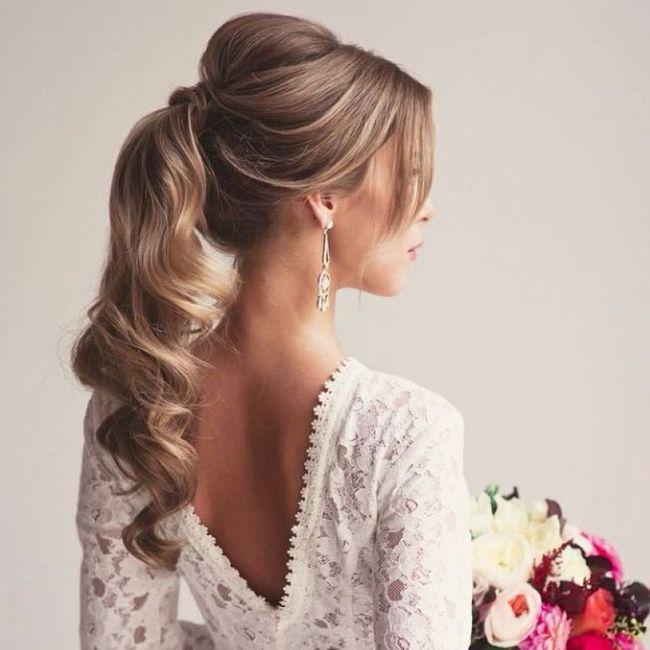 Tu peinado para tu fecha de tu boda 💖 2