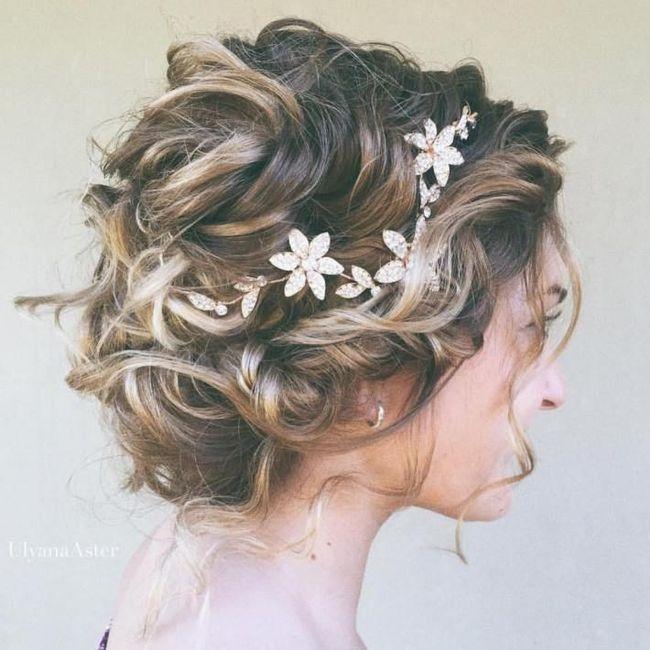 Tu peinado para tu fecha de tu boda 💖 1