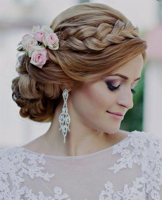 Tu peinado para tu fecha de tu boda 💖 3