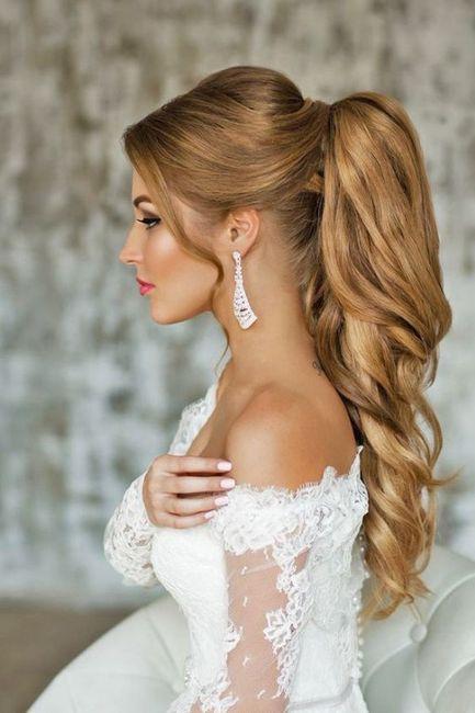 Tu peinado para tu fecha de tu boda 💖 4