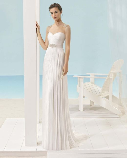 7 dilemas sobre tu vestido de novia: ¿con o sin cola? 👗