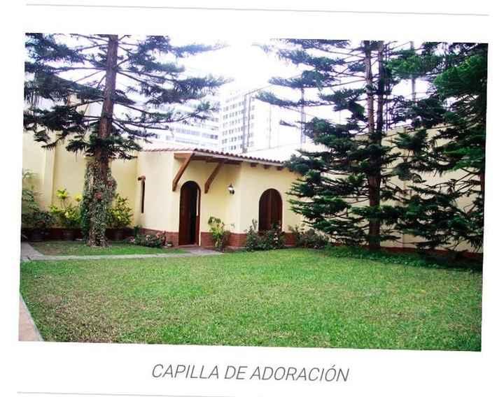 Jardín de la casa para recepción