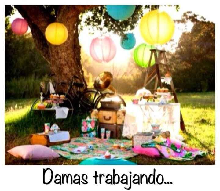 En picnic
