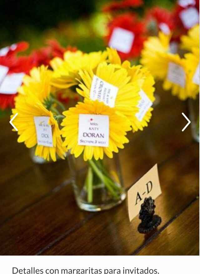Margaritas: las flores perfectas para decorar tu boda - 3